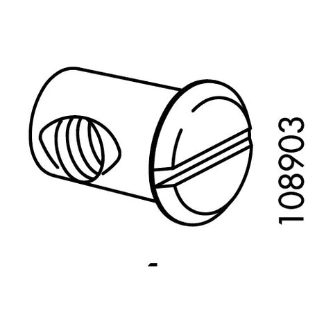 IKEA HEMNES Daybed Nut Sleeve (Part #108903)
