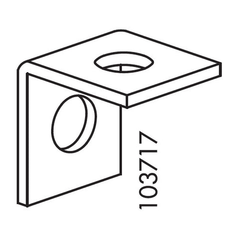 Liatorp L Bracket (IKEA Part #103717)