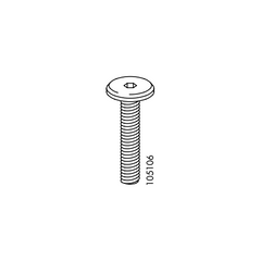 Metric Screws (IKEA Part #105106)
