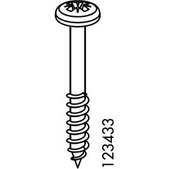 Norrnas Underframe Screw (IKEA Part #123433)