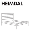 IKEA HEIMDAL Bed Frame Hardware - IKEA Replacement Parts for Assembling IKEA Beds