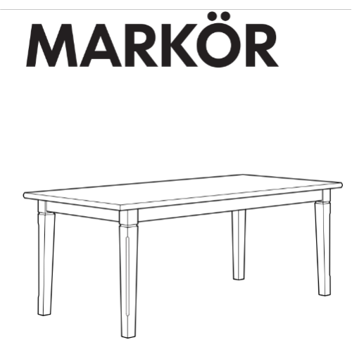 Inspirational Ikea Markor Table