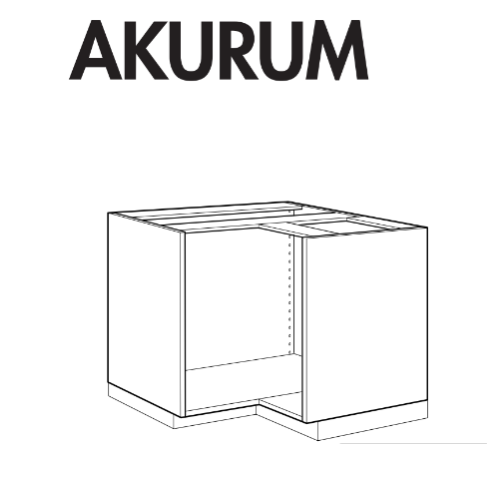 ... IKEA AKURUM Cabinet Replacement Parts ...
