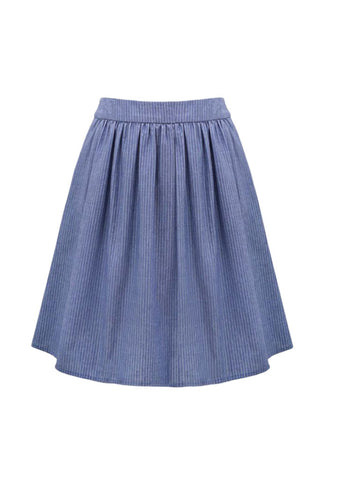 Shirred Skirt