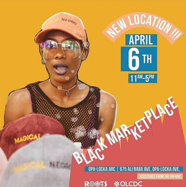 Black Marketplace on April 6th