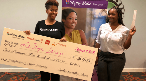 Grand Prize Winner at Odyssey Media Summer Pop Up - KAZMALEJE