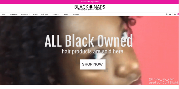 We're Now Available at Black Naps - KAZMALEJE