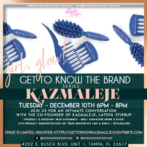 Get to Know the brand at My Shade & Texture