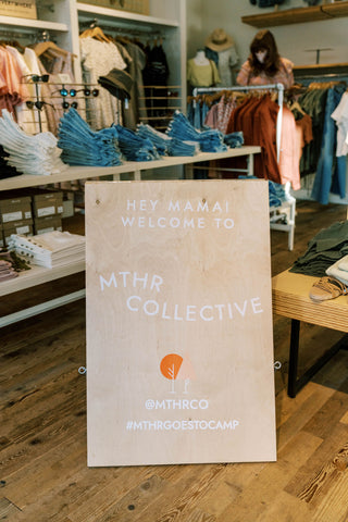 Madewell x Mother Collective Welcome Sign
