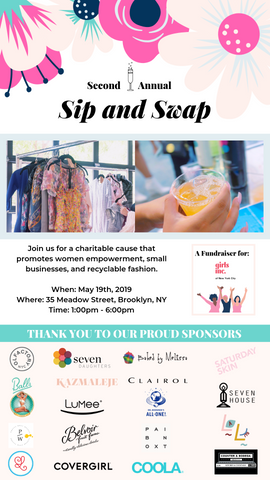 Girls Inc. NYC Sip and Swap