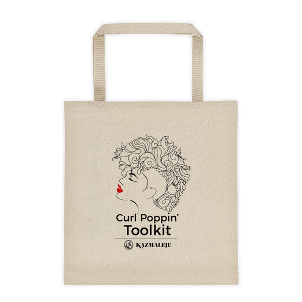 Curl Poppin' Toolkit Tote