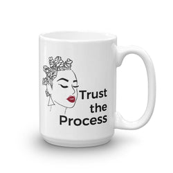 KAZMALEJE Trust the Process Coffee Mug