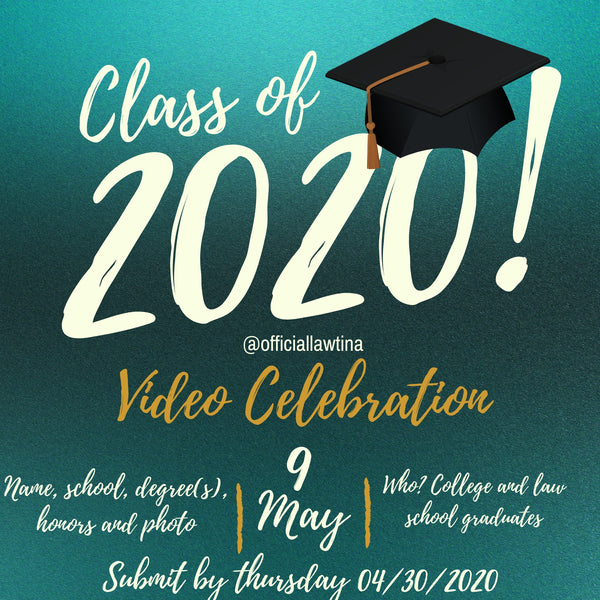 Reminder: Submit Your Information for Graduation Video Celebration