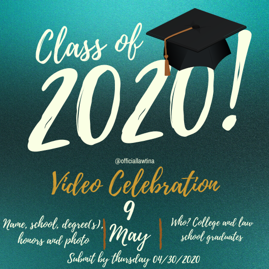 Class of 2020 Video Celebration Dedication