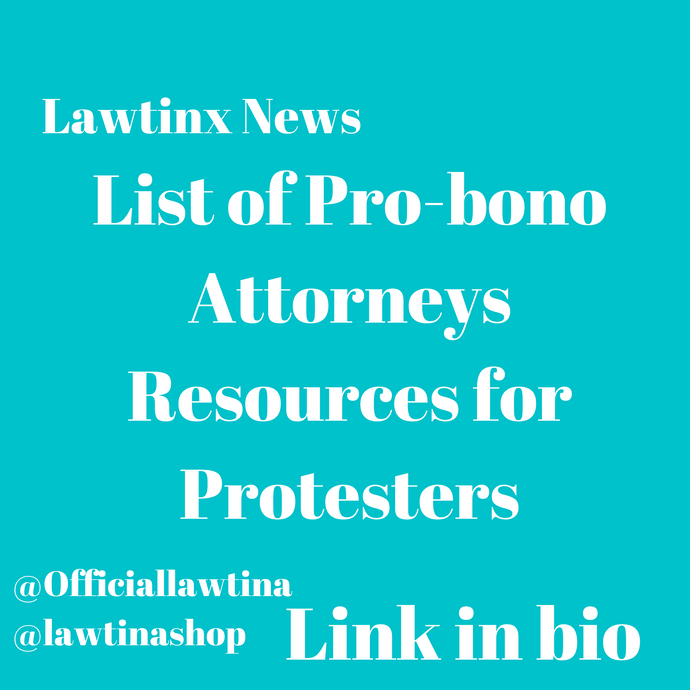 Protesters Resources- Pro-bono attorneys