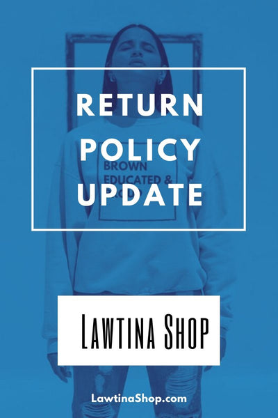 Return Policy Updated 02.01.2020