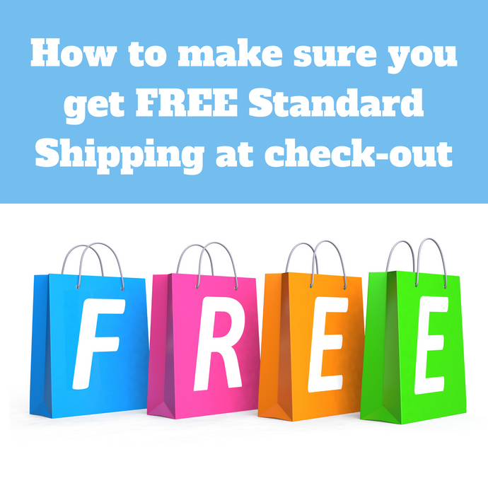 How to get FREE Shipping if you are running into issues!