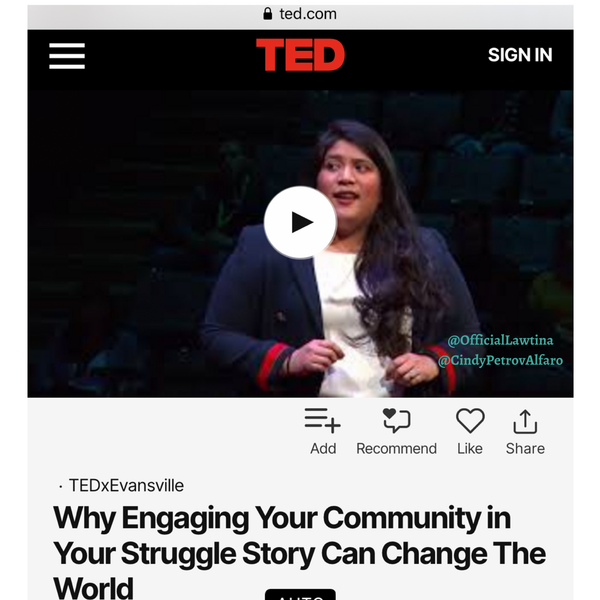 Our Founder on TED.com