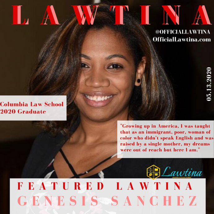 Featured Lawtina Story: Genesis Sanchez