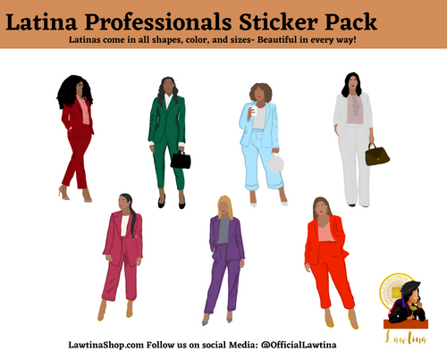 Latina Professionals Sticker Pack!