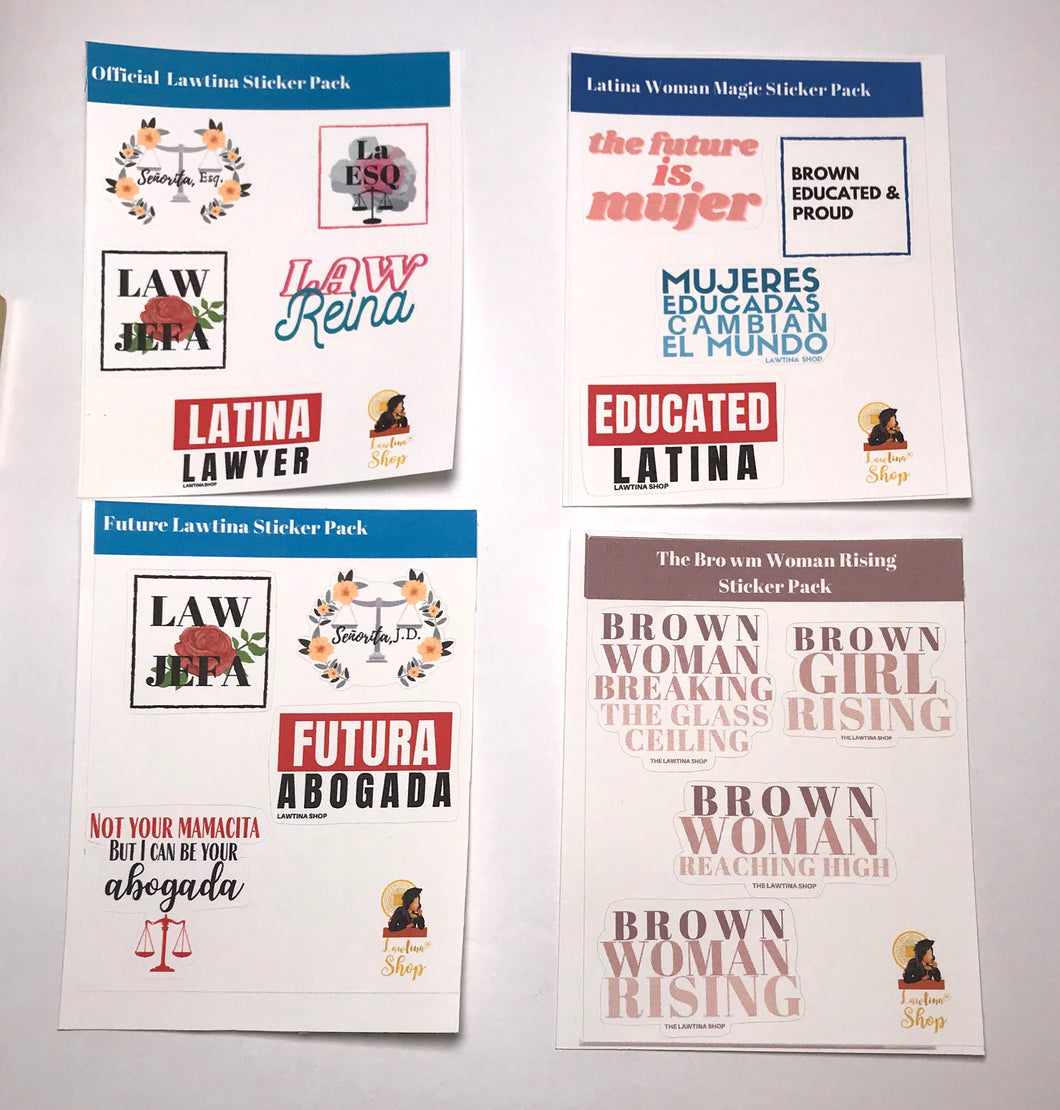 Journal Paper Sticker Sets
