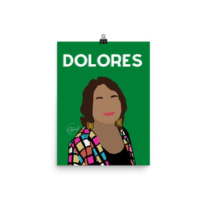 Dolores, Poster