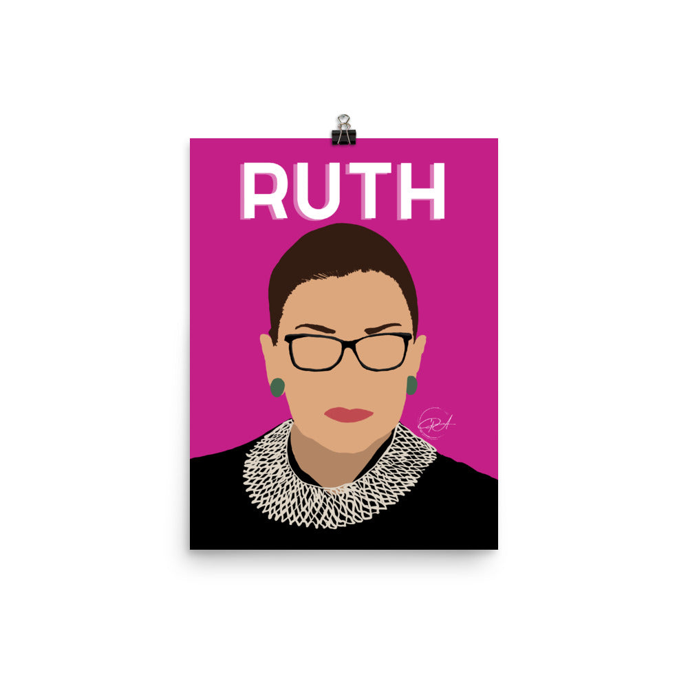 Ruth, Poster
