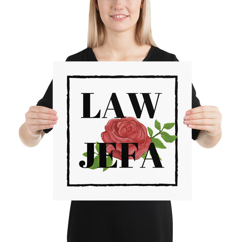 Law Jefa, Poster