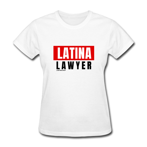 Latina Lawyer Women's T-Shirt - white