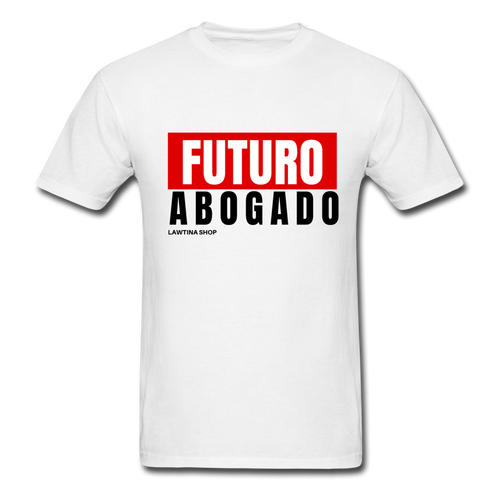 Futuro Abogado Men's T-Shirt - white