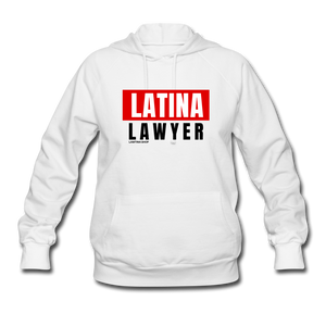 Latina Lawyer Women's Hoodie - white