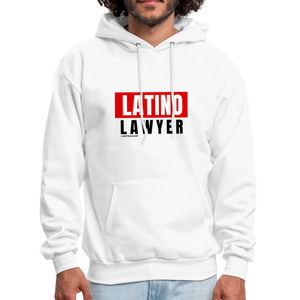 Latino Lawyer Men's Hoodie - white