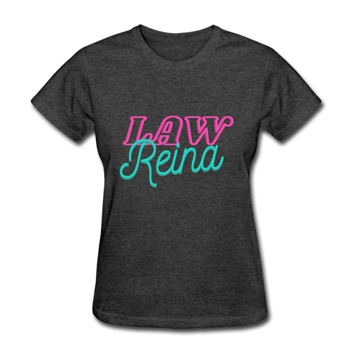 Law Reina Women's T-Shirt - heather black