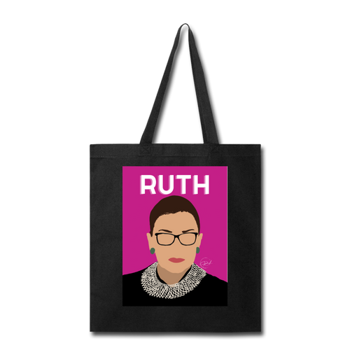 Ruth, Tote Bag - black