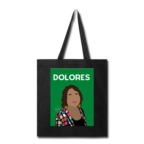 Dolores, Tote Bag - black