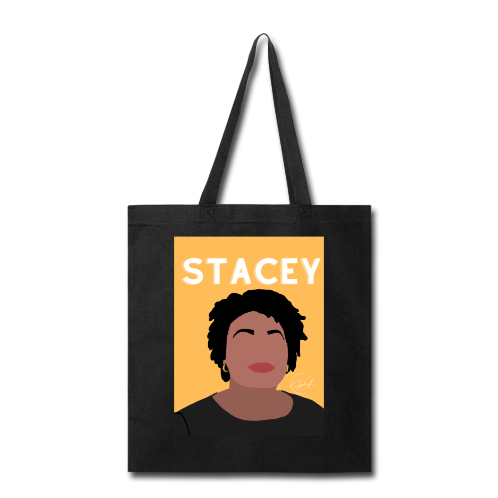 Stacey, Tote Bag - black
