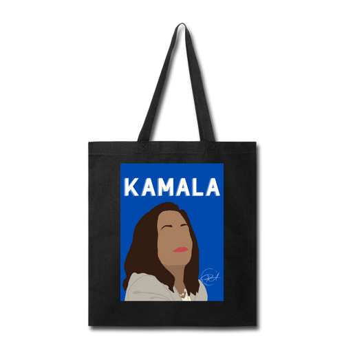 Kamala, Tote Bag - black