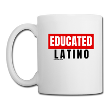 Load image into Gallery viewer, Educated Latino, Coffee/Tea Mug - white