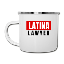 Load image into Gallery viewer, Latina Lawyer, Camper Mug - white