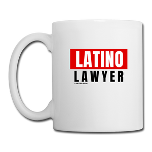 Latino Lawyer, Coffee/Tea Mug - white