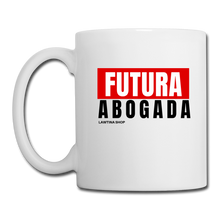 Load image into Gallery viewer, Futura Abogada, Coffee/Tea Mug - white