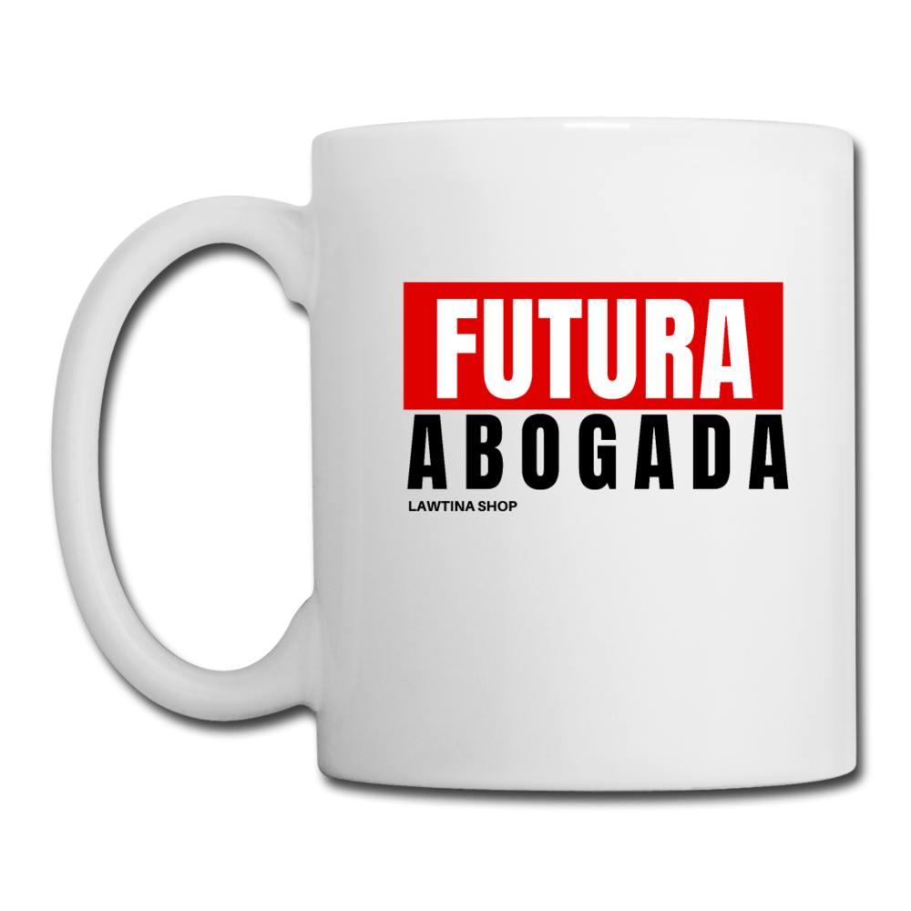 Futura Abogada, Coffee/Tea Mug - white