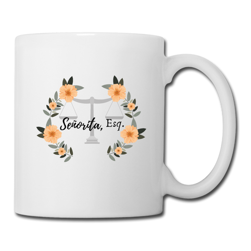 Senorita, Esq. Coffee/Tea Mug - white
