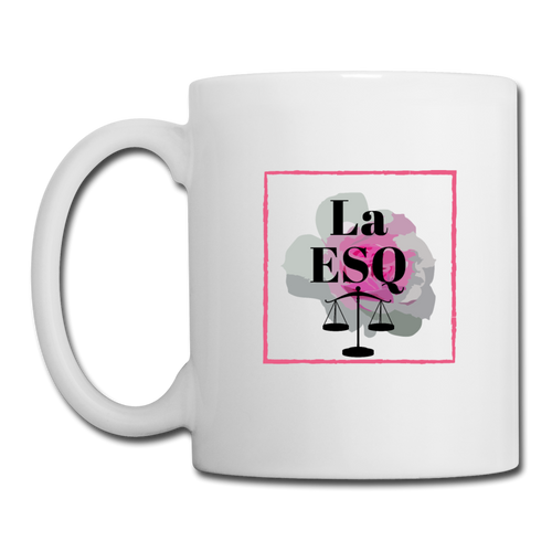La Esq., Coffee/Tea Mug - white