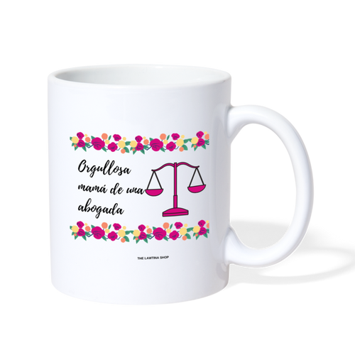 Orgullosa mama, Coffee/Tea Mug - white