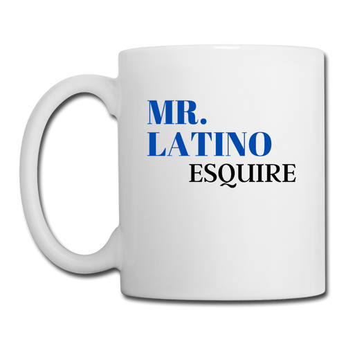 Mr. Latino Esquire, Coffee/Tea Mug - white