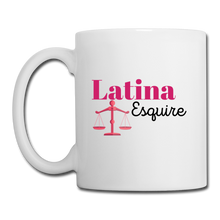Load image into Gallery viewer, Latina Esquire, Coffee/Tea Mug - white