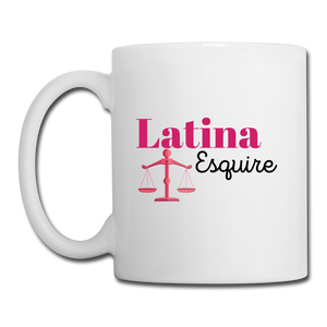 Latina Esquire, Coffee/Tea Mug - white