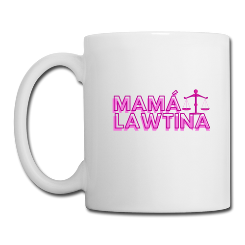 Mama Lawtina, Coffee/Tea Mug - white