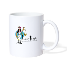 Load image into Gallery viewer, Latina Lady Justice Coffee/Tea Mug - white